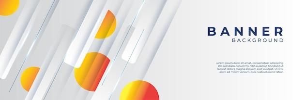 Dynamisch oranje achtergrondverloop, abstracte creatieve kras digitale achtergrond, moderne bestemmingspagina concept vector, met lijn en cirkel vorm.