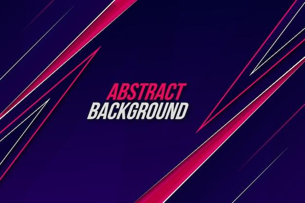 Dynamische abstracte beweging achtergrond