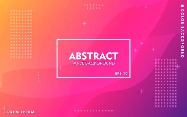 Dynamische abstracte geometrische achtergrond met kleurovergang