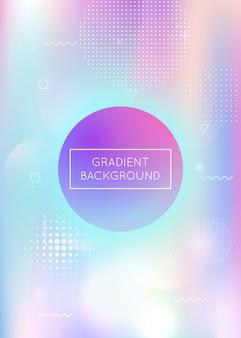 Dynamische achtergrond met kleurovergang