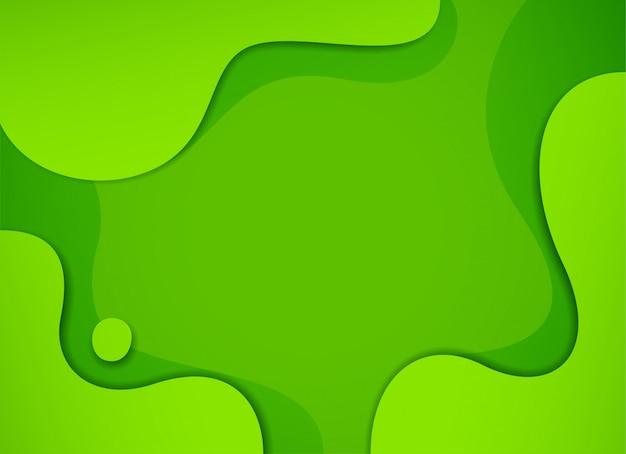 Dynamische gestructureerde groene achtergrond