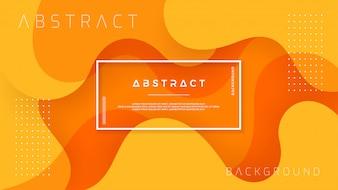Dynamische gestructureerde oranje achtergrond.