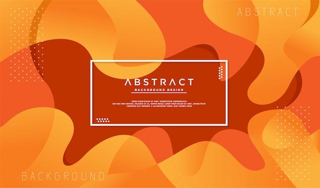 Dynamische gestructureerde oranje achtergrond