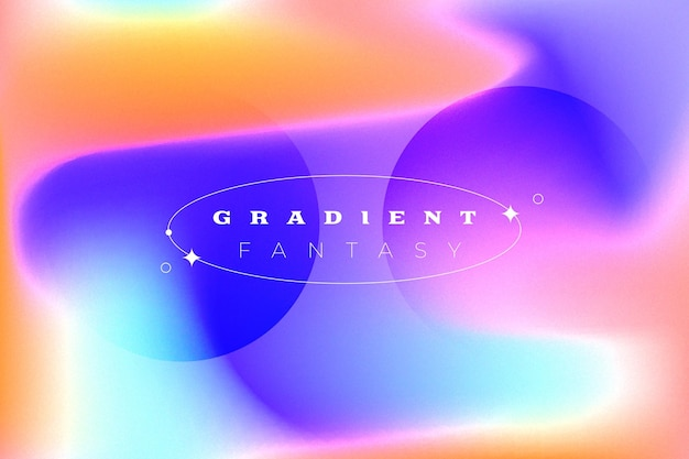 Dynamische gradiënt abstracte achtergrond