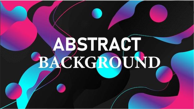 Dynamische gradiënt blauwe abstracte achtergrond