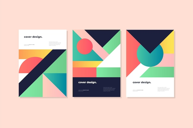 Dynamische gradiënt geometrische covers collectie
