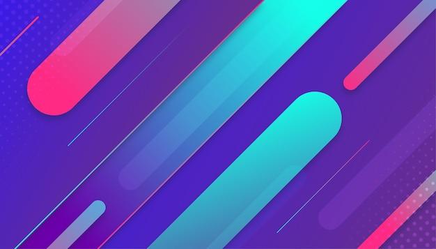 Dynamische kleurovergang stroom sport achtergrond