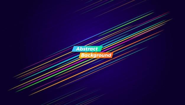 Dynamische kleurrijke bewegingsachtergrond