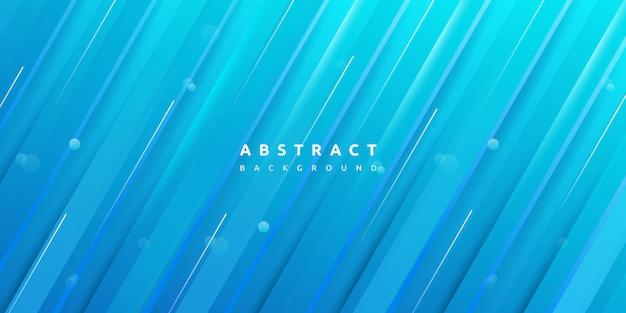 Dynamische kleurrijke blauwe streep textuur achtergrond