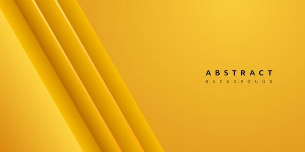 Dynamische kleurrijke gele streep en schone textuurachtergrond