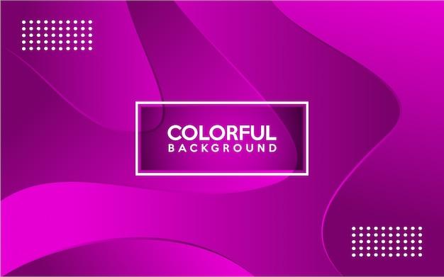 Dynamische kleurrijke gradiënt moderne achtergrond