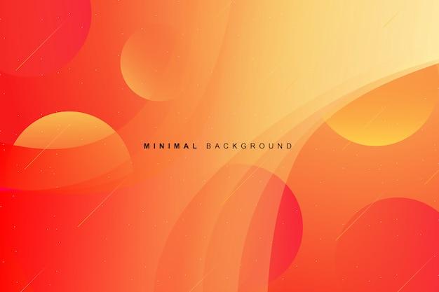 Dynamische kleurrijke levendige moderne gradiëntachtergrond