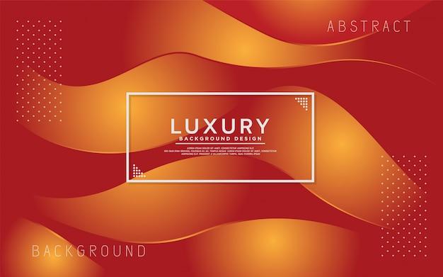 Dynamische oranje kleurrijke abstracte moderne achtergrond