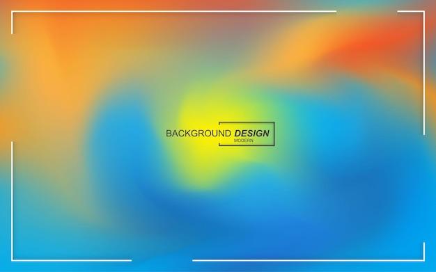 Dynamische vloeibare kleurenachtergrond