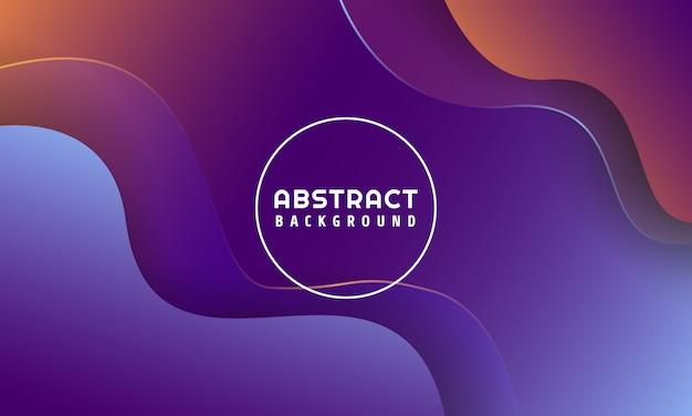 Dynamische vloeibare vormen abstracte achtergrond