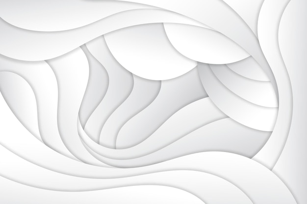 Dynamische vloeiende achtergrond in papierstijl