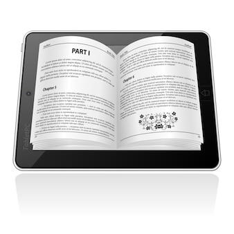 E-boek concept