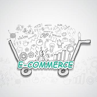 E-commerce illustratie