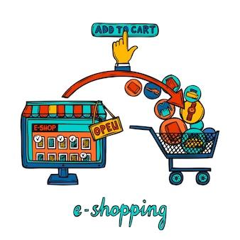 E-commerce ontwerpconcept