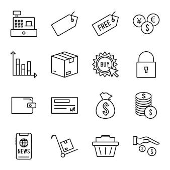 E-commerce pictogrammen