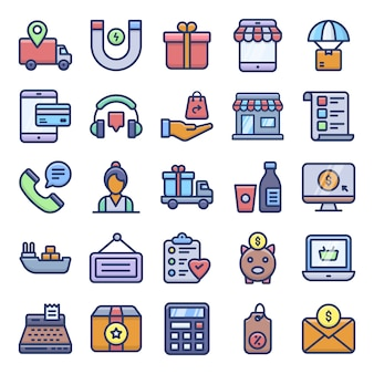E-commerce pictogrammenpakket