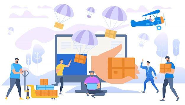 E-commerce verkoop