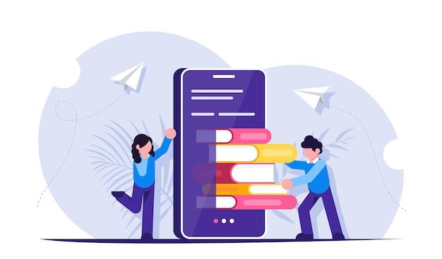 E learning of mobiele bibliotheek