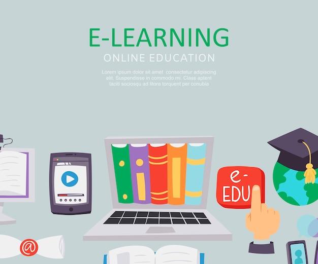 E-learning onderwijs school universiteit