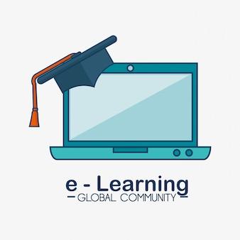 E-learning wereldwijde gemeenschap
