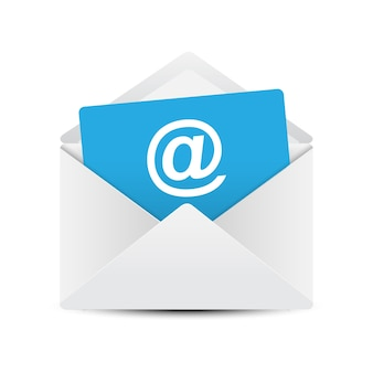 E-mail envelop concept