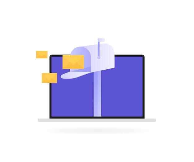 E-mail inschrijven, online nieuwsbrief