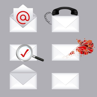 E-mail types