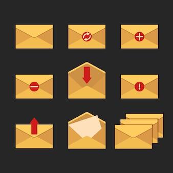 E-mailpictogrammen