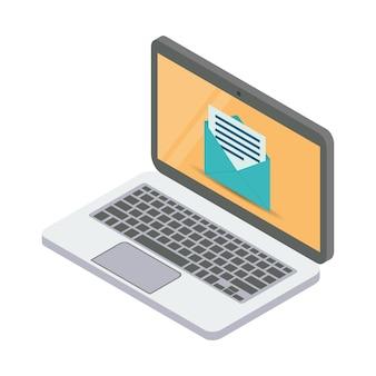 E-mailservices illustratie