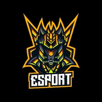 E-sport gaming mascotte ninjaspel
