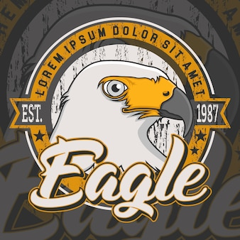 Eagle backgroun ontwerp