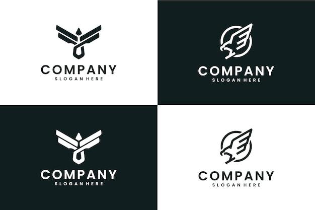 Eagle-collectie, inspiratie voor logo-ontwerp