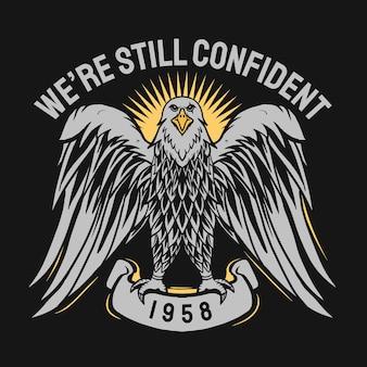 Eagle embleem illustratie