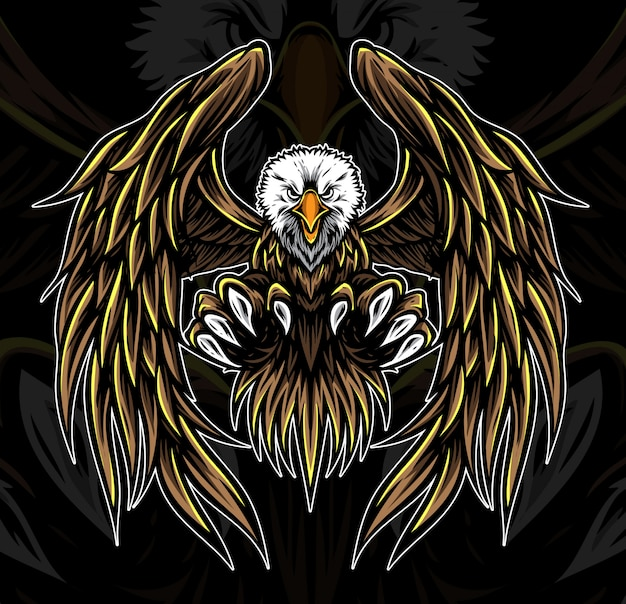 Eagle-embleemvector
