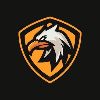 Eagle esports logo-sjablonen