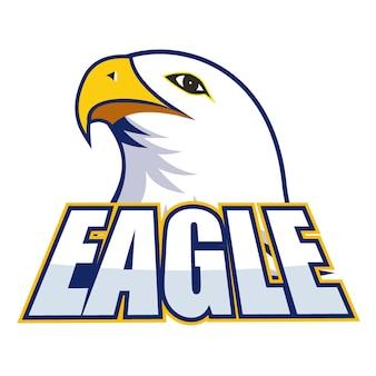 Eagle gezicht illustratie