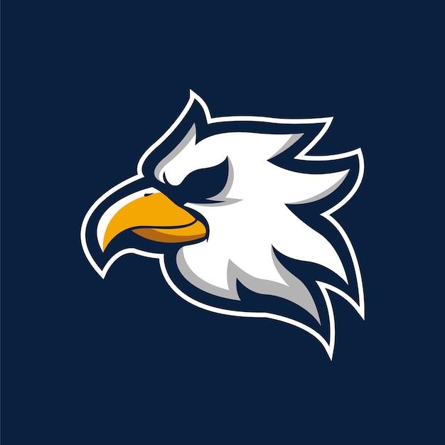 Eagle hoofd mascotte
