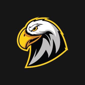 Eagle hoofd ontwerp vectorillustratie