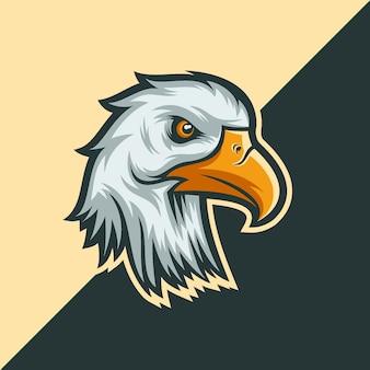 Eagle hoofdmascotte
