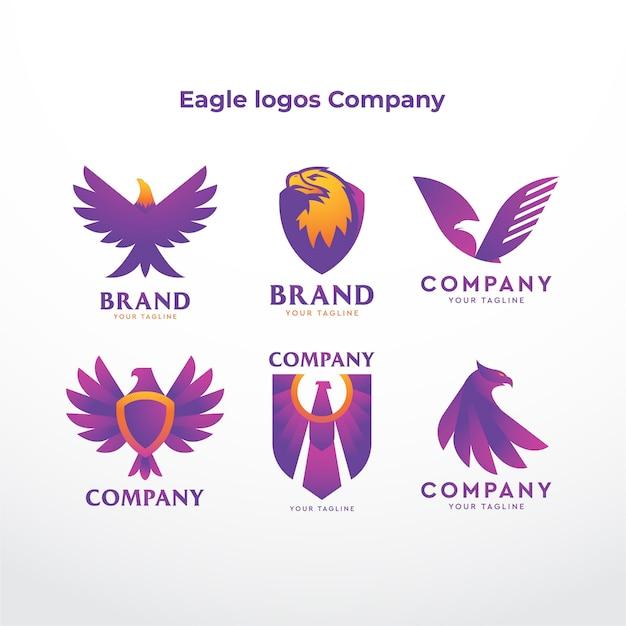 Eagle logo's bedrijf