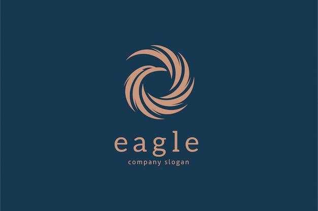 Eagle logo sjabloon