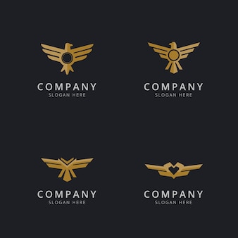 Eagle logo sjabloonontwerp