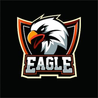 Eagle mascot-logo