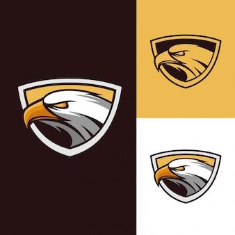 Eagle mascotte logo