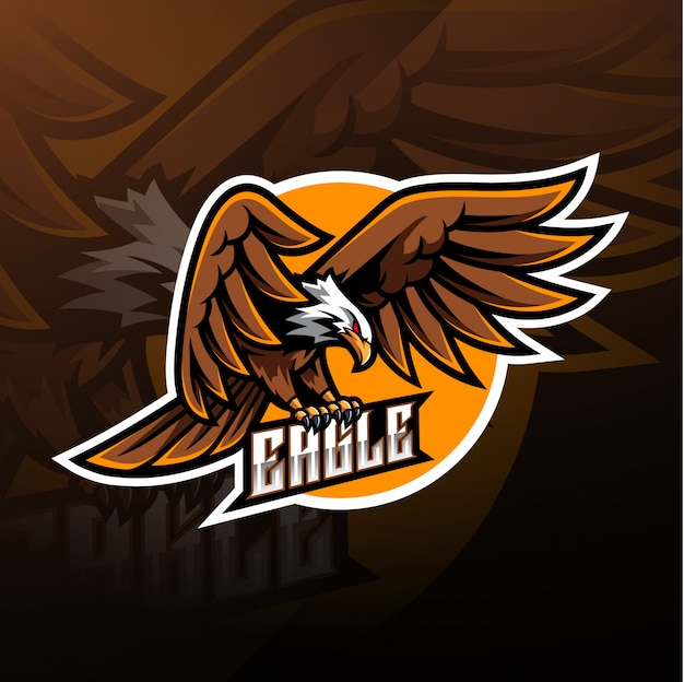 Eagle sport mascotte logo